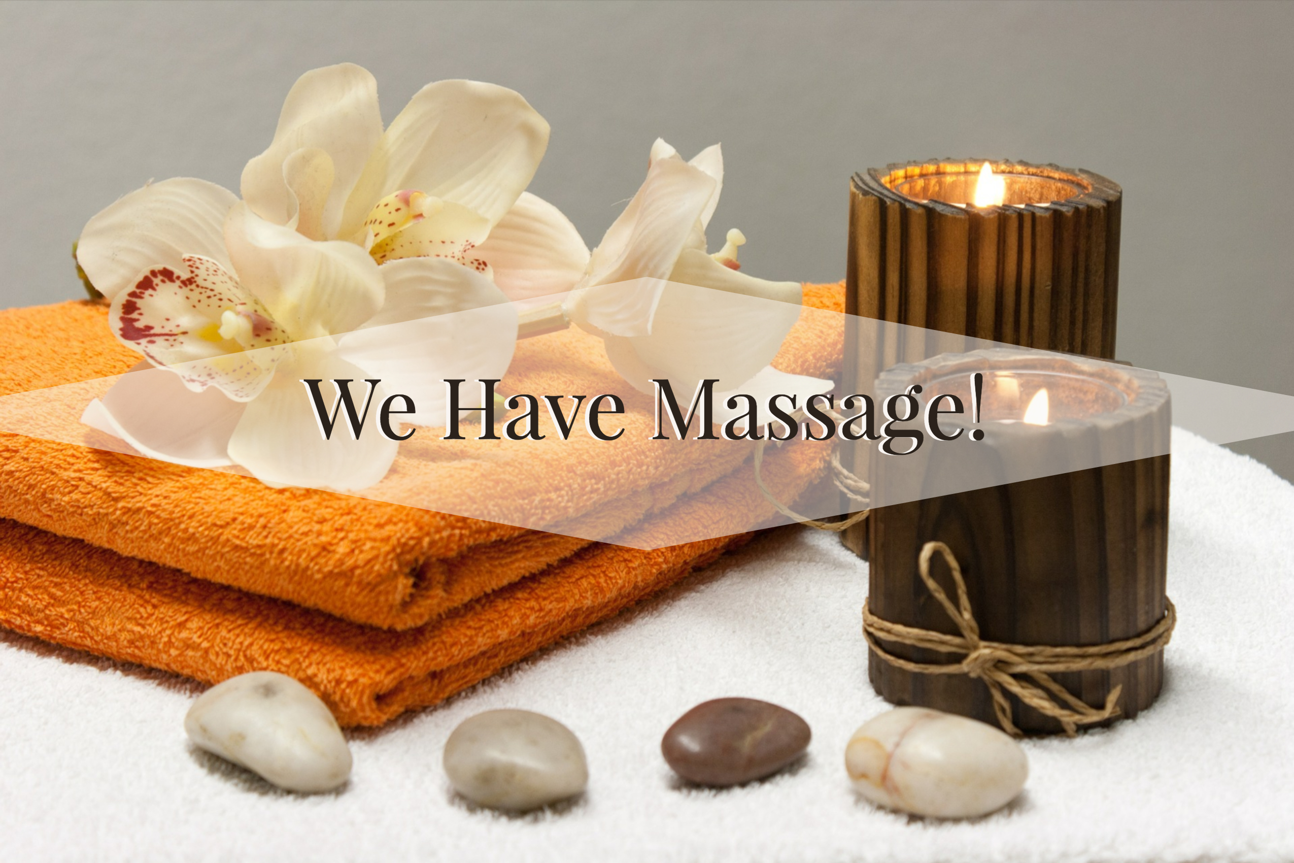 massage therapy supplies